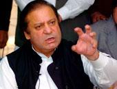 نواز شريف رئيس الوزراء الباكستانى نواز شريف