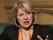 وزيرة الداخلية البريطانية تيريزا ماى