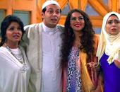 مشهد من مسلسل الزوجة الرابعة