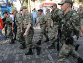 أفراد من الجيش التركى