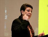 عضو اللجنة التنفيذية لمنظمة التحرير الفلسطينية حنان عشراوى