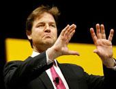 نائب رئيس الوزراء البريطانى نيك كليج