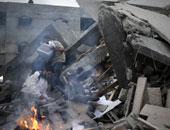جانب من العدوان على غزة - ارشيفية
