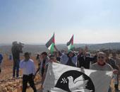 مظاهرات الفلسطينيين