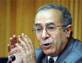 وزير الخارجيه الجزائرى