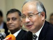 رئيس الوزراء الماليزى محمد نجيب عبد الرزاق