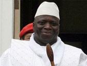 رئيس جامبيا المنتهية ولايته يحيى جامع