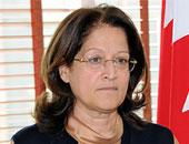 المتحدثة بإسم الحكومة البحرينية سميرة رجب