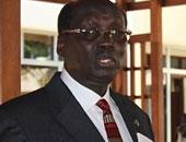 وزير خارجية جنوب السودان برنا بن جامين