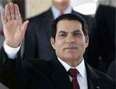 رئيس تونس السابق زين العابدين بن على
