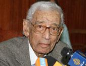 الدكتور بطرس بطرس غالى الأمين العام الأسبق للأمم المتحدة