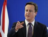 ديفيد كاميرون رئيس الوزراء البريطانى