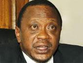الرئيس الكينى أهورو كينياتا