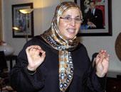 بسيمة الحقاوى وزيرة التضامن المغربية