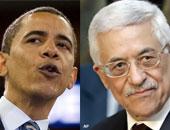الرئيس الفلسطيني ونظيره الأمريكي