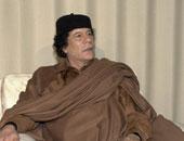 معمر القذافى رئيس ليبيا السابق
