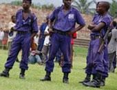 قوات الأمن فى  بوروندى