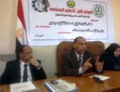 حسن حجازى وكيل وزارة التربية والتعليم بشمال سيناء