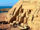 معبد أبوسمبل أرشيفية