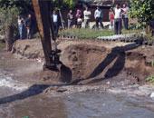 ازالة التعديات على مجرى النيل