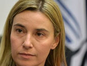 وزيرة الخارجية الإيطالية فيديريكا موجيرينى