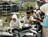 مصنع ملابس - ارشيفية