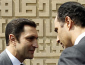علاء مبارك وشقيقه جمال مبارك