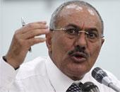 الرئيس السابق لليمن على عبد الله صالح