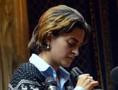 نورهان حفظى زوجة الناشط السياسى أحمد دومة