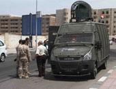 قوات الشرطة فى جامعة الأزهر - أرشيفية