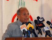 الدكتور رفعت السعيد رئيس المجلس الاستشارى لحزب التجمع