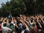 تجمع طلاب الإخوان بجامعة الأزهر - أرشيفية
