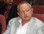 رجل الأعمال نجيب ساويرس رئيس جلوبال تيلكوم