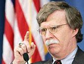 مستشارا الأمن القومى جون بولتون