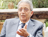 عمرو موسى رئيس جامعة الدول العربية السابق