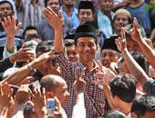 الحملات الإنتخابية لمرشحى الرئاسة ف اندونيسيا