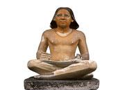 تمثال الكاتب المصرى