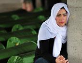 إمرأة حزينة - أرشيفية