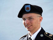 الجندى السابق برادلى مانينج المسجون بجريمة تسريب وثائق سرية إلى ويكيليكس