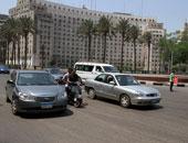 سيولة مرورية بميدان التحرير