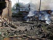 قصف دونيتسك - ارشيفية
