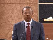 رئيس الوزراء الليبيى عبد الله الثنى  _ أرشيفية