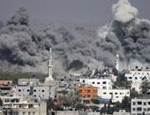 آثار العدوان على غزة