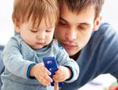 عندما يبدأ الأطفال فى الفهم فإنهم يقومون بفعل نفس الأشياء التى يقوم آباؤهم بفعلها