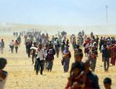 """فرار الإيزيديين من داعش """"أرشيفية"""""""