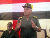 اللواء كامل الوزيرى رئيس اللجنة الهندسية لمشروع حفر قناة السويس
