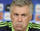 أنشيلوتى مدرب ريال مدريد