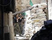 جانب من المعارك فى سوريا