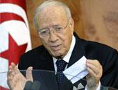 رئيس حزب نداء تونس الباجى قائد السبسى
