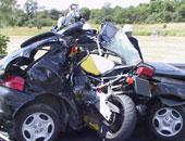 حادث سيارة  أرشيفية